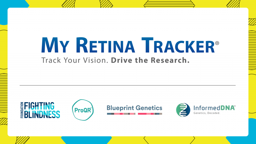 My Retina Tracker Logo