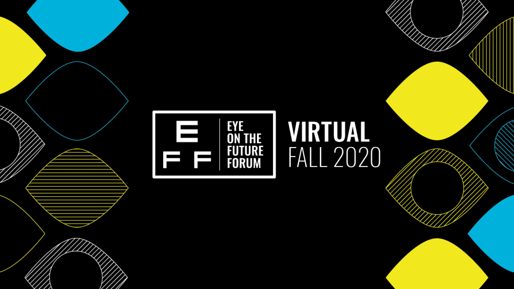 An image featuring the Eye on the Future Forum logo for the Virtual Fall 2020 summit